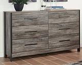 Cazenfeld Dresser, Black/Gray