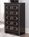 Banalski Chest of Drawers, Dark Brown