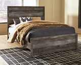 Wynnlow Queen Panel Bed, Gray