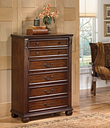 Leahlyn Chest of Drawers, Warm Brown