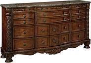 North Shore Dresser, Dark Brown