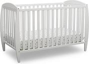 Delta Children Taylor 4-in-1 Convertible Baby Crib, White