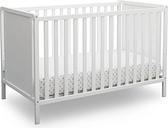 Delta Children Heartland Classic 4-in-1 Convertible Baby Crib, White