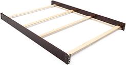 Delta Children Full Size Bed Rails, Dark Chocolate