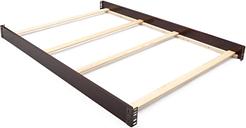 Delta Children Full Size Bed Rails, Black/Espresso