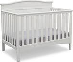Delta Children Bennett 4-in-1 Convertible Crib, White