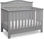 Delta Children Serta Barrett 4-in-1 Convertible Crib, Gray