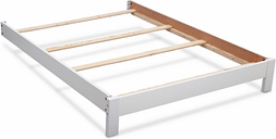 Delta Children Serta Full Size Platform Bed Kit, White