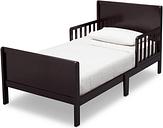 Delta Children Fancy Wood Toddler Bed, Dark Chocolate