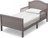 Delta Children Bennett Wood Toddler Bed, Gray