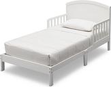 Delta Children Abby Wood Toddler Bed, White