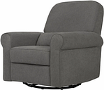 Davinci Ruby Recliner and Glider, Charcoal