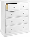 Davinci Signature 5 Drawer Tall Dresser, White