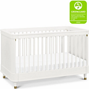 Million Dollar Baby Classic Tanner 3-in-1 Convertible Crib, White