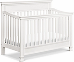 Million Dollar Baby Classic Foothill 4-in-1 Convertible Crib with Toddler Bed Conversion Kit, White