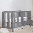 Carter's by Davinci Colby 4-in-1 Low Profile Convertible Crib, Gray