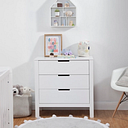 Carter's by Davinci Colby 3 Drawer Dresser, White