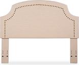 Courvan Full/Queen Upholstered Headboard, Natural