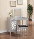 Lattice Vanity Set, Metallic