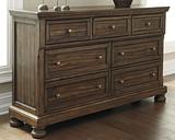 Flynnter Dresser, Medium Brown
