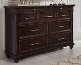Brynhurst Dresser, Dark Brown