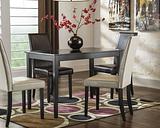 Kimonte Dining Table, Dark Brown