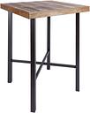 Tintori Industrial Pub Table, Brown