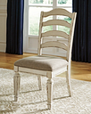 Realyn Dining Chair (Set of 2), Chipped White
