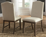 Johnelle Dining Chair (Set of 2), Beige