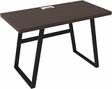 "Camiburg 47"" Home Office Desk, Warm Brown"