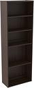 Camiburg Bookcase, Warm Brown