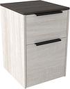 Dorrinson File Cabinet, Two-tone