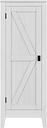 Rustic Storage Cabinet, Ivory