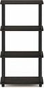 Four Shelf Home Office Bookcase, Espresso