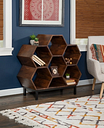 Powell Adena Bookshelf, Brown