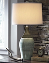 Niobe Table Lamp (Set of 2), Multi Gray