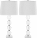 Stacked Globe Table Lamp (Set of 2), Transparent