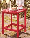 Sundown Treasure End Table, Red