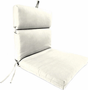 "Home Accents Outdoor 22"" x 44"" Sunbrella Chair Cushion, Salt"