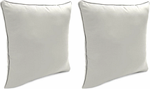 "Home Accents Outdoor Sunbrella 18"" x 18"" Toss Pillow (Set of 2), Granite"