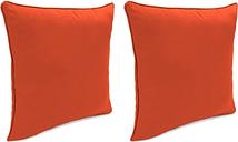 "Home Accents Outdoor Sunbrella 18"" x 18"" Toss Pillow (Set of 2), Grenadine"