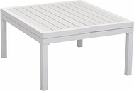 Patio Lift-Top Coffee Table, White