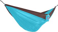 Patio Hammock, Chocolate/Turquoise