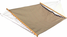 Patio Double Poolside Hammock, Taupe