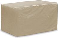 Patio Chaise Lounge Cushions Storage Bag, Tan