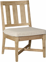 Clare View Chair with Cushion (Set of 2), Beige
