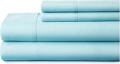 4 Piece Premium Ultra Soft King Bed Sheet Set, Aqua