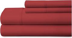 4 Piece Premium Ultra Soft King Bed Sheet Set, Burgundy