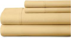 3 Piece Premium Ultra Soft Twin XL Sheet Set, Gold