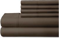 3 Piece Luxury Ultra Soft Twin Sheet Set, Chocolate